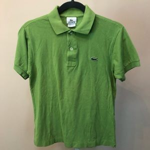 Lacoste Green Polo SS Shirt (Vanity Size 2 or XXS)